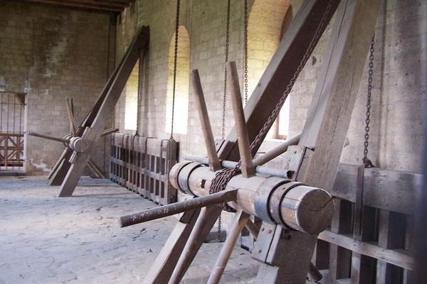 Werkzeug im Archäologischen Park