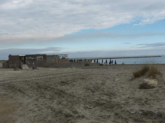 leerer Strand - wunderbar