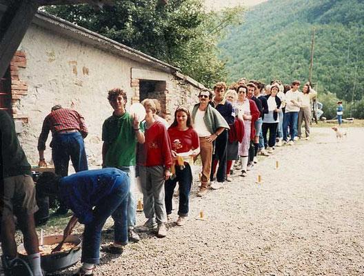 Penne alla caprese a Monte Freddi
