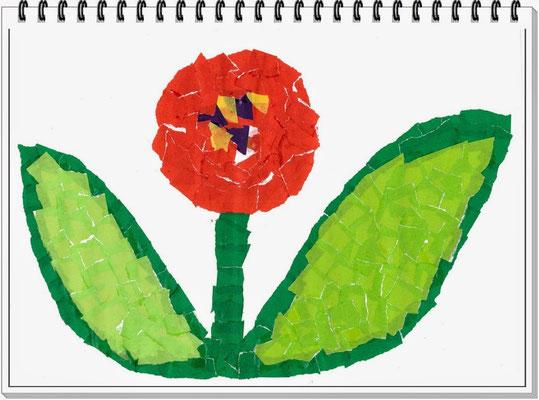 『 作品のお花を作りました 』 大沢 友也 さん