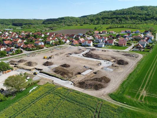 Marktbergel-Weilerfeld - Erschließung Baugebiet