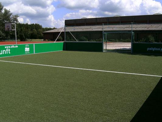 Das DFB-Soccerfeld - immer für eine kleine Partie gut.