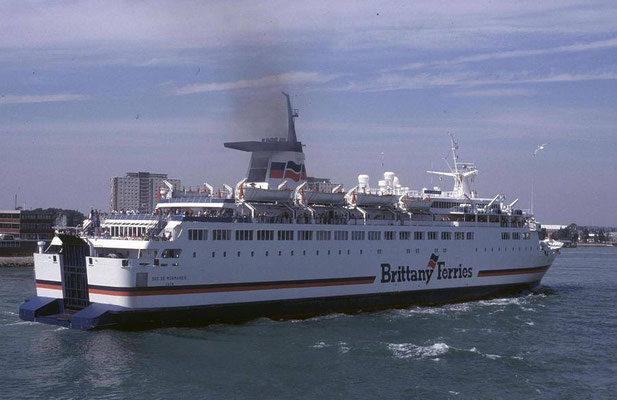 Duc de Normandie. Courtesy Brittany Ferries.