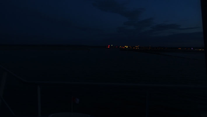 Ouistreham by night
