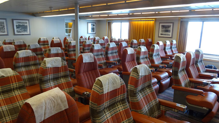 Normandie's reclining seats lounge