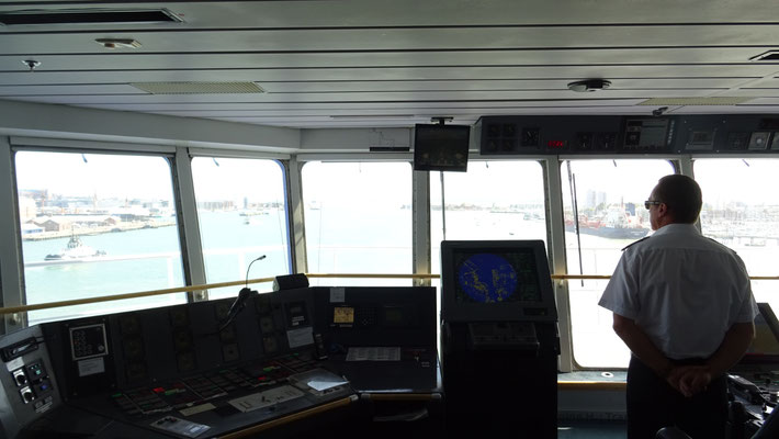 Normandie's wheelhouse