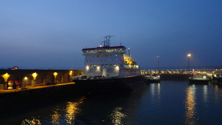 M/S Commodore Clipper preparing to set sail to Portsmouth. Picture Antoine H.