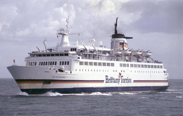 Duc de Normandie. Courtesy Brittany Ferries.