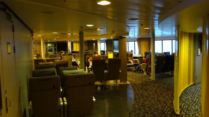 The seat lounge of deck 08