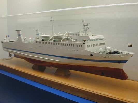 Model of Penn Ar Bed. Courtesy Tony WEAVER.