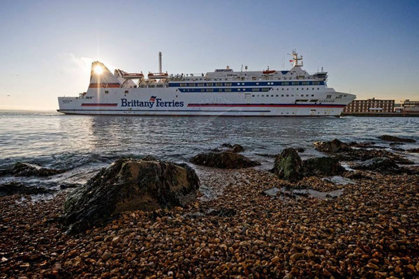 Barfleur. Courtesy Brittany Ferries.