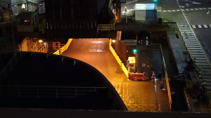 Portsmouth's double deck linkspan