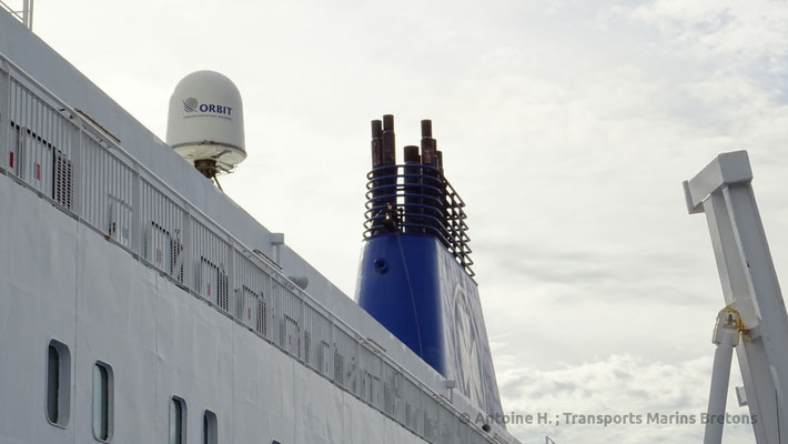 The Funnel, altered by DFDS to remove its former top. Picture Antoine H.