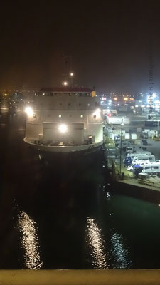 Commdore Goodwill before her departure towards the Channel Islands