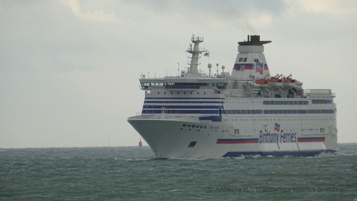 Bretagne heading to Saint-Malo. Picture Antoine H.