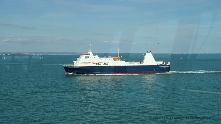 Commodore Goodwill passing Normandie