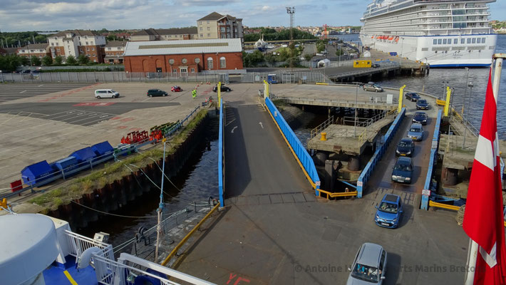 North Shields' Ferries Terminal Link Span. Picture Antoine H.