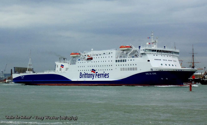 Baie de Seine in Portsmouth. Courtesy Tony WEAVER (BF Ships).