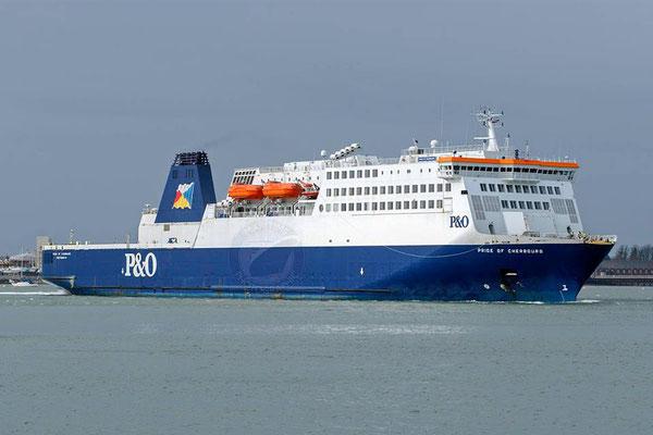 Pride of Cherbourg (3). Courtesy Gary Davies (Maritime Photographic)