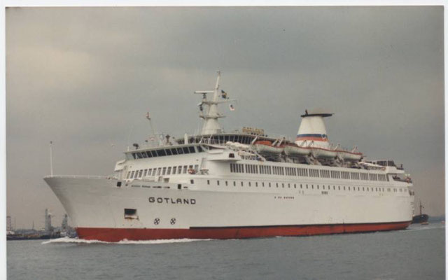 M/S Gotland (1988), courtesy Brittany Ferries