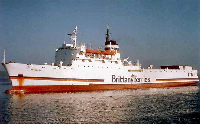Breizh Izel. Courtesy Brittany Ferries.