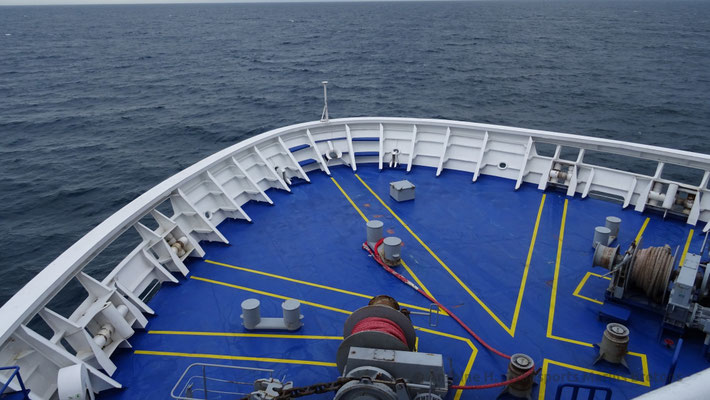 The fore morring deck. Picture Antoine H.