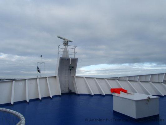 Bretagne's bow deck. Picture Antoine H.