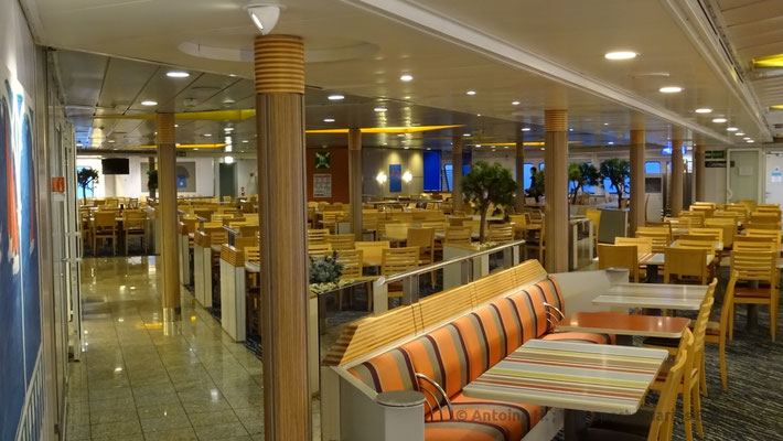 View of the cafeteria