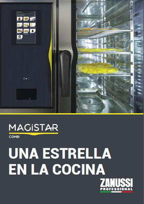 Nuevos hornos Magistar de Zanussi Professional.