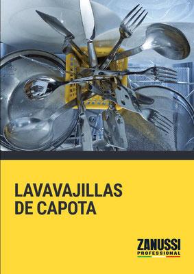 LAVAVAJILLAS DE CAPOTA ZANUSSI PROFESSIONAL