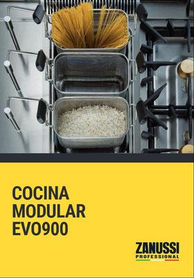 COCCIÓN MODULAR EVO900 ZANUSSI PROFESSIONAL