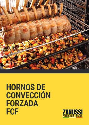 CATÁLOGO HORNO CONVECCIÓN FORZADA FCF ZANUSSI PROFESSIONAL
