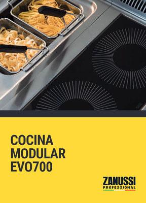 COCCION MODULAR EVO700 ZANUSSI PROFESSIONAL