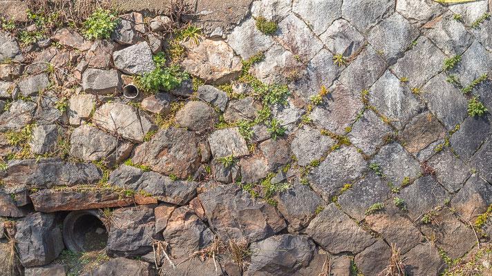 空石積みの風景