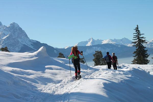 Berge Garmisch-Partenkirchern