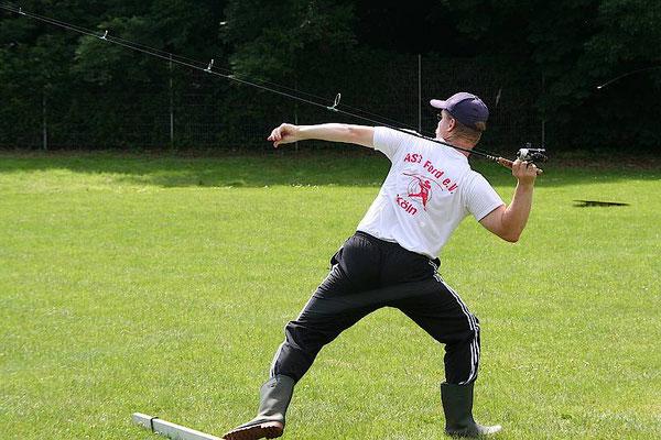 Casting-Meisterschaften des Rheinischen Fischereiverbands 2009 in Erkrath