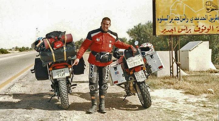 Appena entrati in Libia