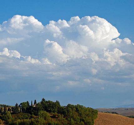Paesaggio nelle Crete Senesi