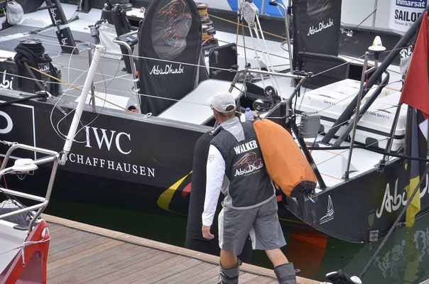 Team Abu Dhabi - Azzam - Ian Walker