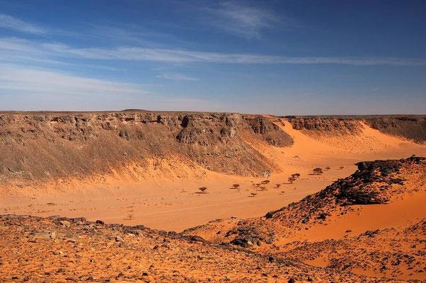 Vista dall'alto di Wadi Abd el malik