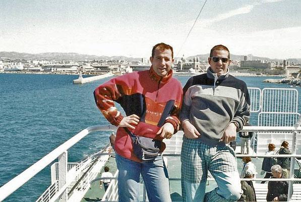 La partenza: Marsiglia