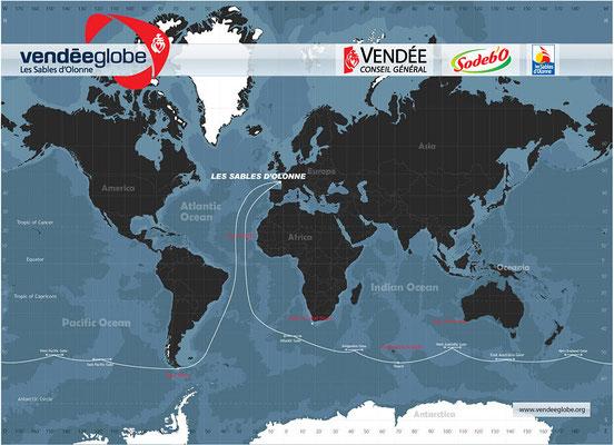 Vendee Globe - il percorso