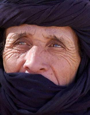La calma e la serenitá di Abdallah, nostra guida in Algeria
