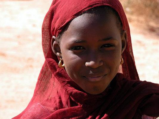 La bellezza di questa bambina nel villaggio mauro di xxx