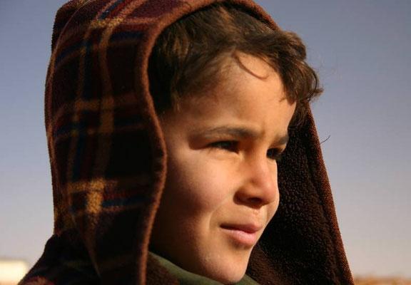 Un bimbo Mauro ad Atar, Mauritania