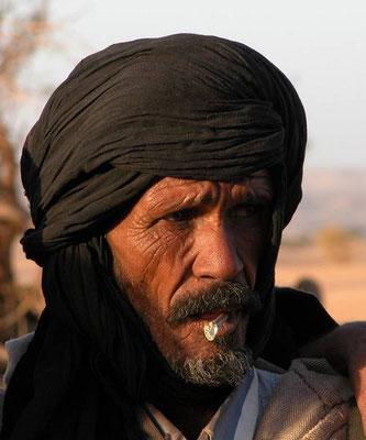 Yeslem, fiero capo del villaggio di xxx in Mauritania