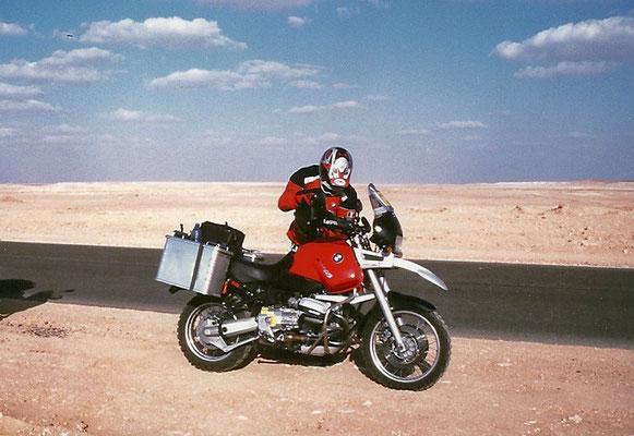 Verso il confine egiziano