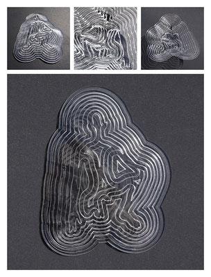 PL1TL9V5746 acrylic, 34x6,5x26 cm, 2017
