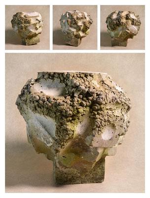 C2C60TXY15V21924 ciment fondu, sand, expanded clay 27x28x29cm, 2015