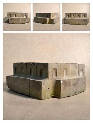 C2C60Y15L2 (2) cemento fuso, sabbia e argilla espansa, h 12cm, 2015